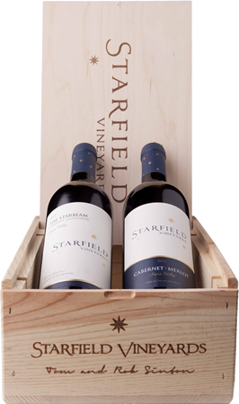 Starfield Vineyards, Gift Box, 2 Reds Image