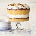 Pumpkin Trifle with Candied Pecans
